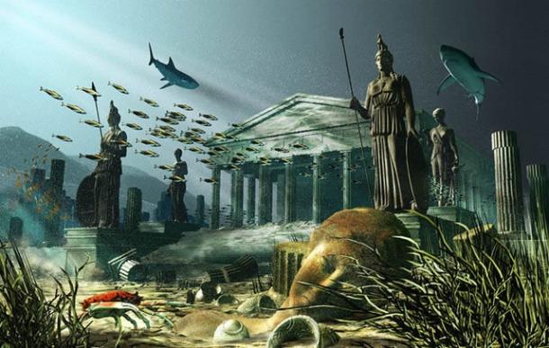Загадочная Атлантида