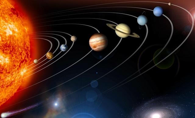 Вселенная — Солнечная система — Земля